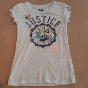 Justice tshirt